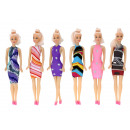 Doll 30 cm high, 6  assorted, 18er Display
