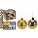 Christmas times assorted 50 mm, gold, 2 times asso