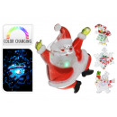 Window decoration with LED 3 times assorted , 10cm