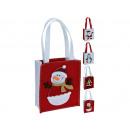 Großhandel sonstige Taschen: Filztasche Weihnachten 4 fach sortiert