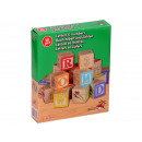 wholesale Wooden Toys: Wooden game  letters and numbers, 30 stones