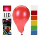 Großhandel Outdoor-Spielzeug: Luftballons mit LED, 3er Set