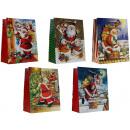 Geschenkbeutel mittel (23 x 18 x 10 cm) Weihnachte