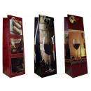 groothandel Food producten: Cadeautasje fles  (36 x 11 x 10 cm) wijn,