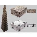 hurtownia Wszystko dla firmy: Boxenset karton, projekt gazety, 15 sztuk