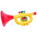 Großhandel Musikinstrumente: Trompete, ca. 23 x 11 x 9,5 cm,