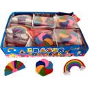 Eraser 'Rainbow Colors', ca. 4 cm,