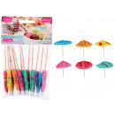 Cocktail sticks, cocktail umbrella 10 cm long,