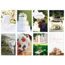 Hochzeitskarte mit Glückwünschen