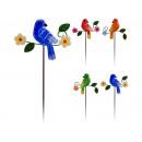 mayorista Decoracion, jardin e iluminacion: Pájaro jardín, 38 cm de metal,