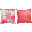 wholesale Cushions & Blankets: Reversible Throw Pillow 40 x 40 cm rose,