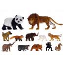 Conjunto de Animales Salvajes de 2, 6 veces surtid