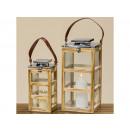 Lantern Kingston Set of 2 H30-43cm skewer, brewing