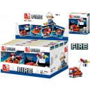 Sluban Bausteine ''Fire'' Feuerwehr 4 Modelle