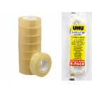 UHU Klebeband Tape 4er Set 15 mm x 10 m transparen