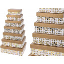 Boxing set cardboard box, 14 pieces