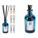 Großhandel Raumsprays & Duftöle: Raumduft 100 ml mit 6 Holzstäbchen 6fach sortiert