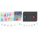LED fairy lights Happy Birthday