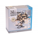 Fairy lights 240 LED, warm white for indoor and ou