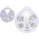 wholesale Other: Spray snow stencils winter designs