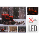 LED Picture, Canvas Lanterns Christmas Themes, 4-5