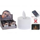 LED Teelichter mit Wackel-Flacker-Effekt, 2er-Set