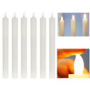 LED stick candle, real wax, approx. 2.5 x 25 cm, w