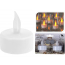 LED tealights with flicker effect, set of 2