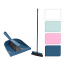 Cleaning set 3 pcs. Dustpan with hand brush u