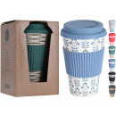 Coffee to Go Thermo Mug, Coffee Mug bamboo m.