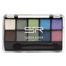 hurtownia Make-up: Cienie do powiek niebiesko-zielone, 10 kolorów + a
