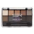 hurtownia Make-up: Smokey Eyeshadow, 10 kolorów + aplikator