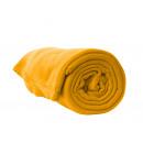 wholesale Cushions & Blankets: Fleece cuddly blanket, sofa cover orange
