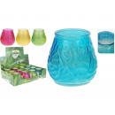 wholesale Candles & Candleholder: Zitronella tealight in the glass