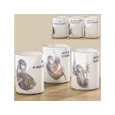 wholesale Candles & Candleholder: Lantern, tealight Baba with saying