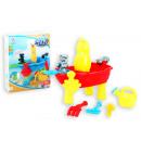 Sandspielzeug 15-tlg. Piratenboot