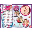 Großhandel Ohrringe: Klebe Ohrringe Sticker Disney VIOLETTA