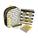 Großhandel Lizenzartikel: Rucksack gefüllt MINIONS, 5-tlg.
