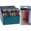 wholesale Gifts & Stationery: Highlighter, marker pens, pack of 4