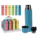 wholesale Thermos jugs: Vacuum flask drinking bottle Alu 500 ml