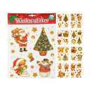 wholesale Wall Tattoos: Wall stickers, window stickers, Christmas, 8-fold