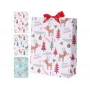 Geschenkbeutel mttel (25 x 34 x 8,5 cm) Weihnachte