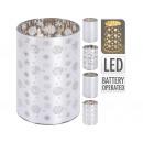 LED tealight glass / tea pot holder with integrate