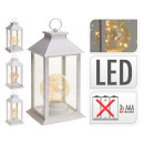 Lantern with LED light bulb, with TIMER (6h on / 1