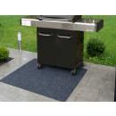 nagyker Kert és barkácsolás: BBQ Grill szőnyeg 120x100 cm egyrétegű antracit