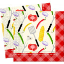 Barbeque - 20 3-laags papieren servetten 33x33cm
