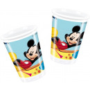 grossiste Maison et habitat: Espiègle Mickey - 10 tasses en plastique 200ml