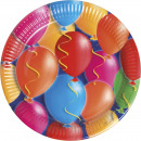 Ballons  multicolores  fantaisie - 10 ...