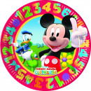 Großhandel Haushaltswaren: Mickey play with numbers - 10 Pappteller Groß 23cm