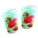 mayorista Artículos para el hogar: Disney Piratas - 10 vasos de plástico de 180 / ...